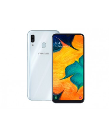 Смартфон Samsung Galaxy A30 4gb 64gb white Ru