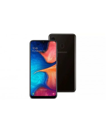 Смартфон Samsung Galaxy A20 3gb 32gb black  Ru