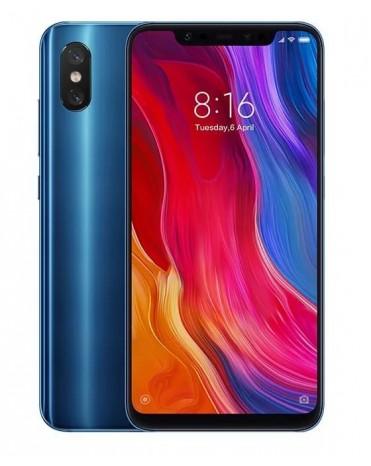 Cмартфон xiaomi mi 8 6gb 64gb blue global version